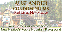 Hike, bike and ride horseback on hundreds of Rocky Mountain trails in Red River, NM, relax at Auslander vacation condos